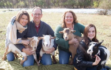 Reagan Grannemann and Her Family Adopt Four Goats as Pets