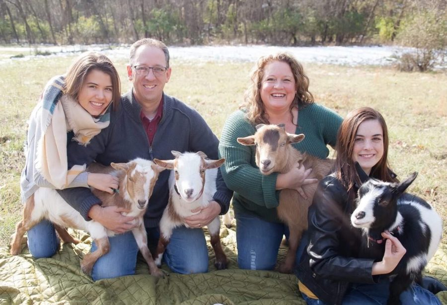 Reagan+Grannemann+and+Her+Family+Adopt+Four+Goats+as+Pets
