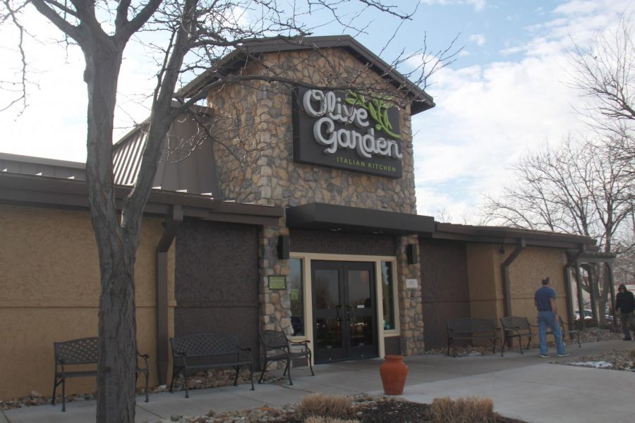 Olive garden is a nice Italian restaurant that won
