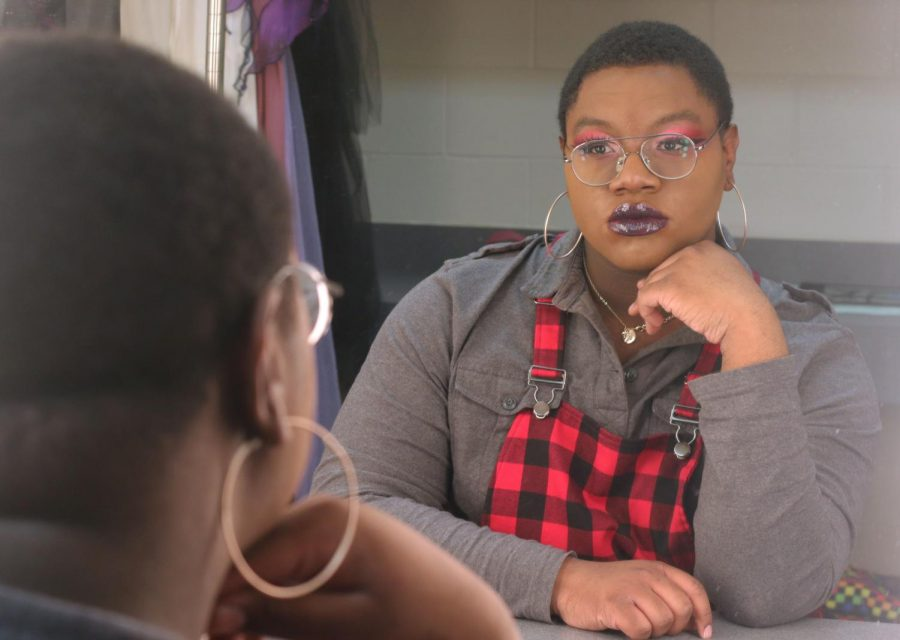 Khalil Poole is Gender Nonconforming and Uses Makeup as a Form of Self Expression
