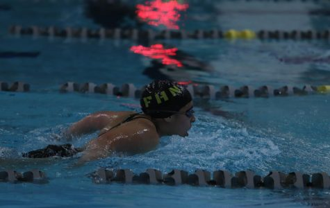 1-14 Girls Varsity Swim drops into Second place to Timberland [Photo Gallery]