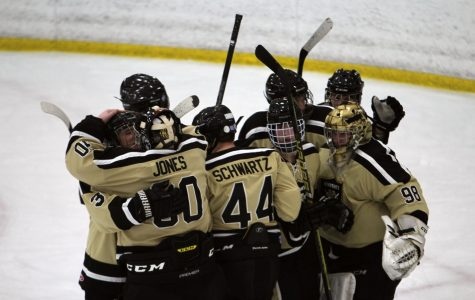 Varsity Hockey Pulls Out Win On Senior Night [Photo Gallery]