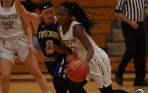 Varsity Girls Basketball Loses Chance of a Victory To Troy [Photo Gallery]