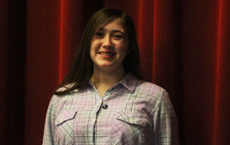 Freshman Aubrey Crespo's Military Family Moved Often
