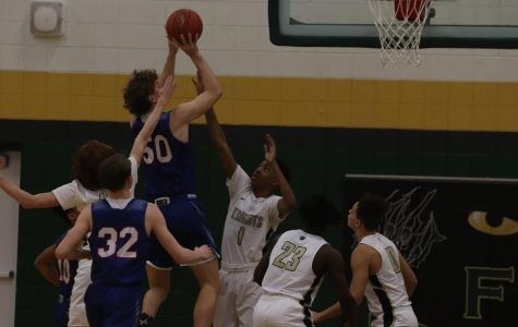 St. Louis Priory Steals the Ball from FHN Varsity Boys Basketball [Photo Gallery]