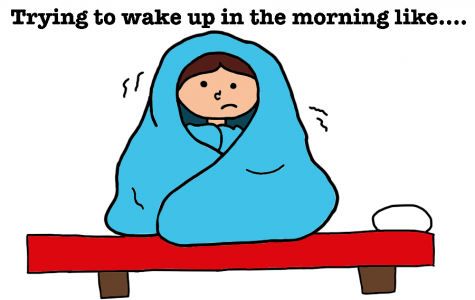 Rough mornings [Comic]
