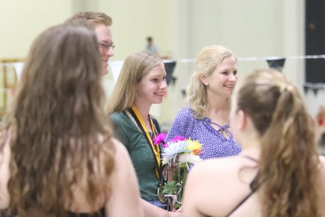 Senior Kamryn Bell to Compete in the State Diving Competition