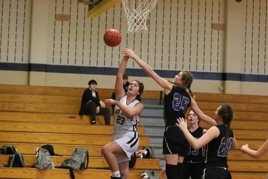 JV Girls Basketball Loses Last Home Game of Season [Photo Gallery]