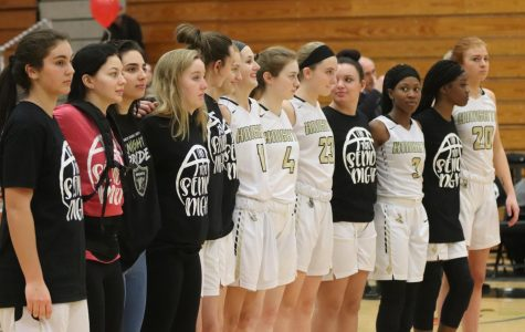 Varsity Girls Basketball Loses on Senior Night [Photo Gallery]