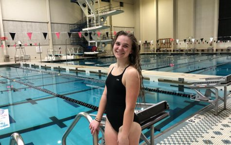 Junior Amanda Willenbrock Joins FHN Swim Team