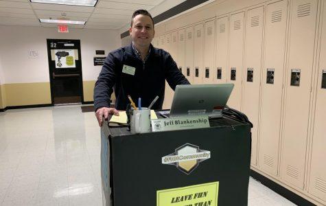 FHN Principal Jeff Blankenship Has a New Desk on Wheels