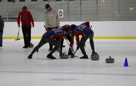 FHN Varsity Curling Wins In A Close Game After Skip Stones