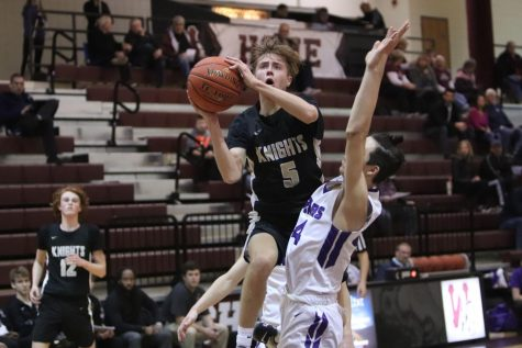 Varsity Boys Basketball Has High Hopes for Remainder of Season