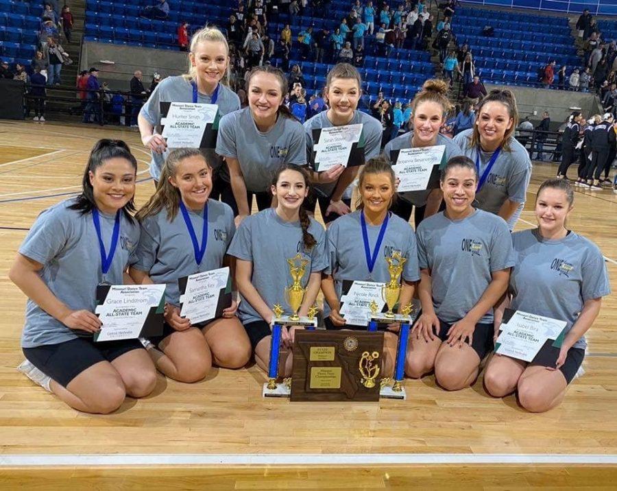Knightline Closed the Dance Season on Missouri State Dance Team Championships
