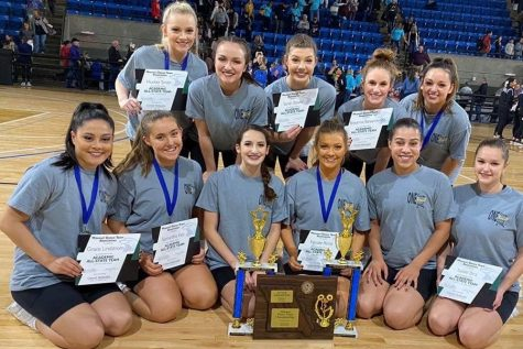 Knightline Closed the Dance Season on Missouri State Dance Team Championships