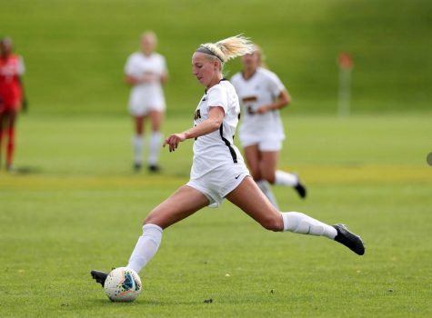 FHN soccer alumni and Iowa soccer player Sam Cary discusses her goals for next year
