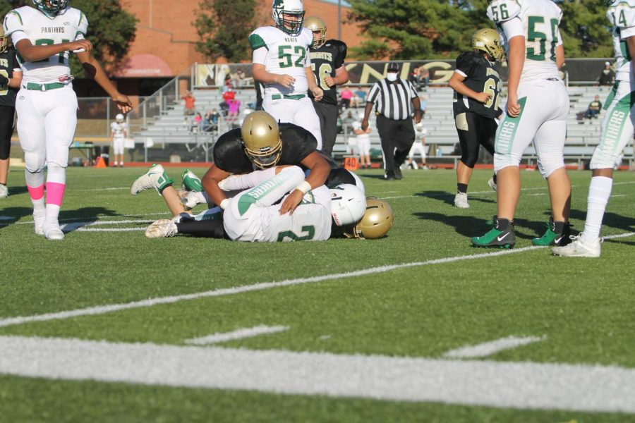 C-Team Football Plays Tough Game Against FZN [Photo Gallery]