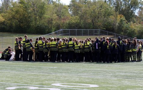 FHN Knightpride Marching Band Performs for the Final Time This Year [Photo Gallery]