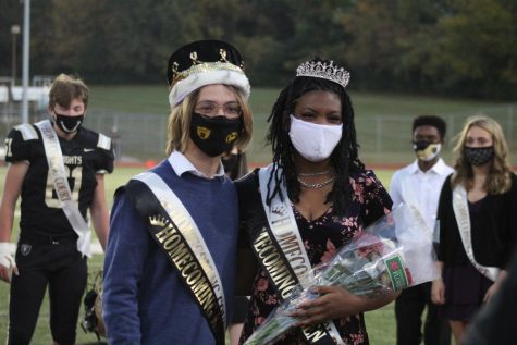 Seniors Gabe Lobato and Minnie Adams Win Homecoming King and Queen [Photo Gallery]