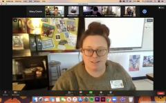 Spanish Teacher Caitlyn Crain Teaches Online Classes