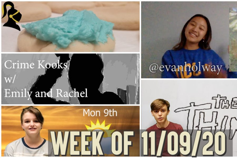 Knightly Show #8   Week of 11/09/20   Sweet and Scary (Sugar Cookies, Movie Review, Crime Kooks)