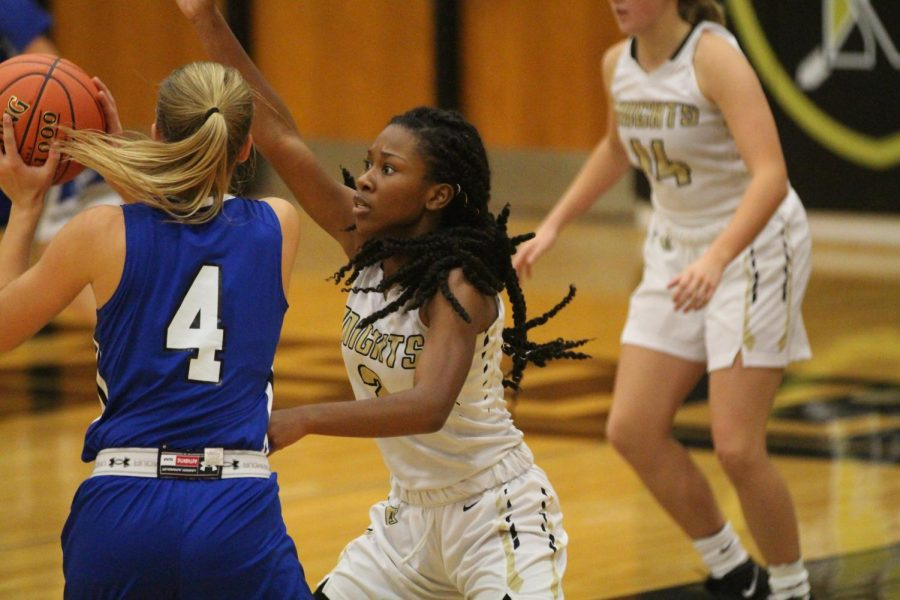 Girls Varsity Basketball Defeats Washington in Home Opener [Photo Gallery]
