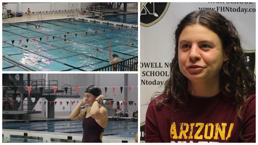 Olivia Neunaber Discusses Varsity Swim