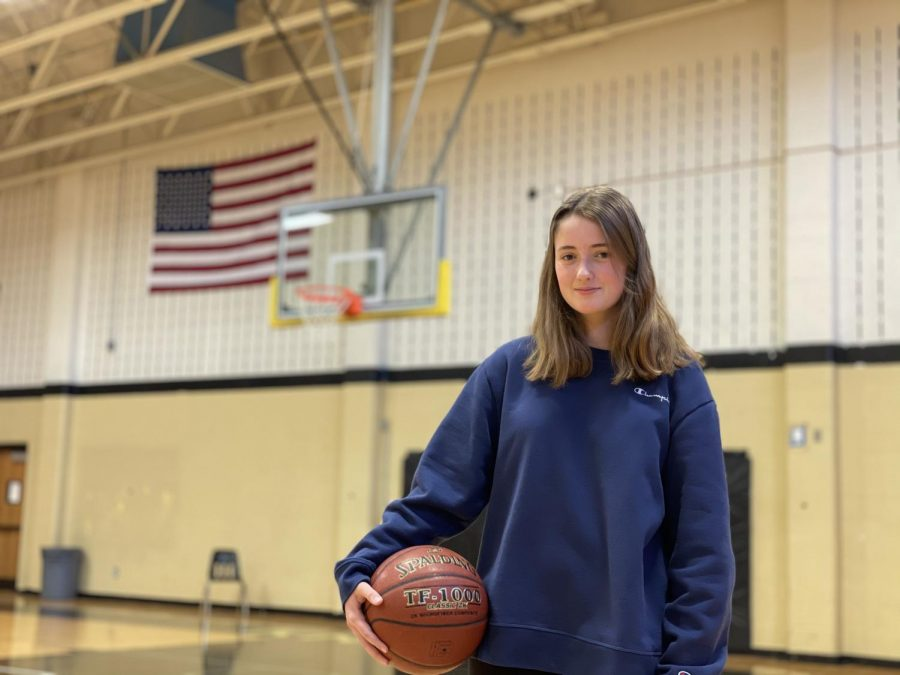Sophomore Charlotte Bartels Began Playing Basketball
