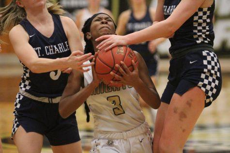 Girls Varsity Basketball Wins Against St. Charles HS on Senior Night [Photo Gallery]