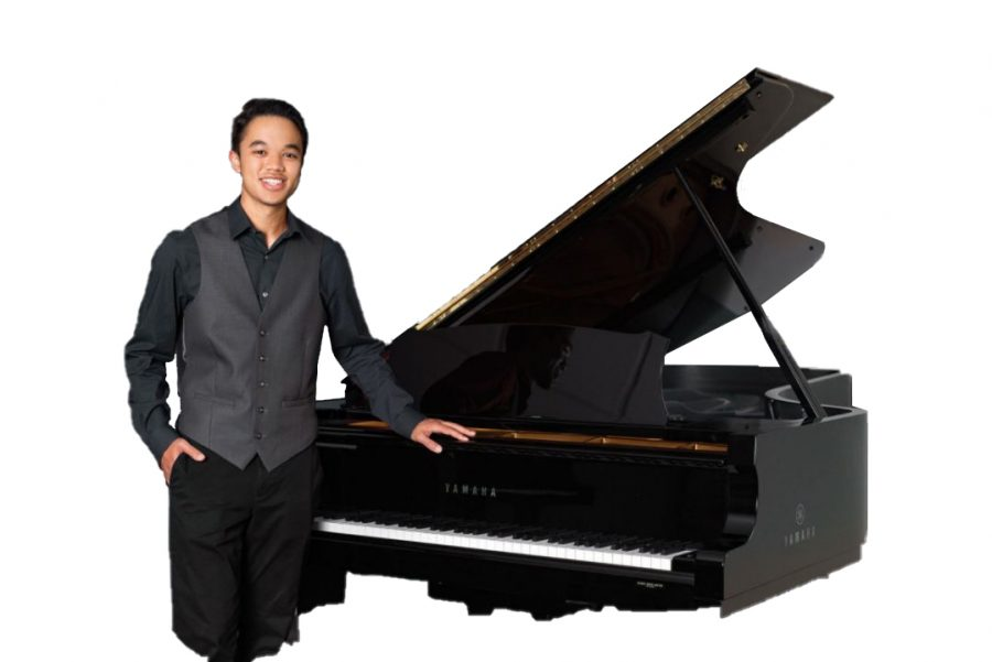 Senior Nathan Vo is a Competitive Piano Player