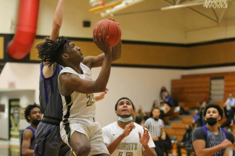Varsity Basketball Fights but Comes Up Short Against Parkway North [Photo Gallery]
