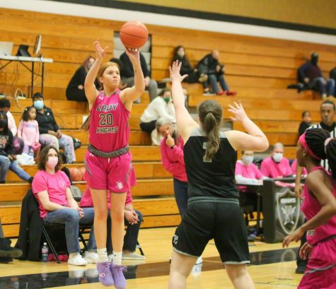 Girls Varsity Basketball Defeats FZN in Pink Out Game [Photo Gallery]