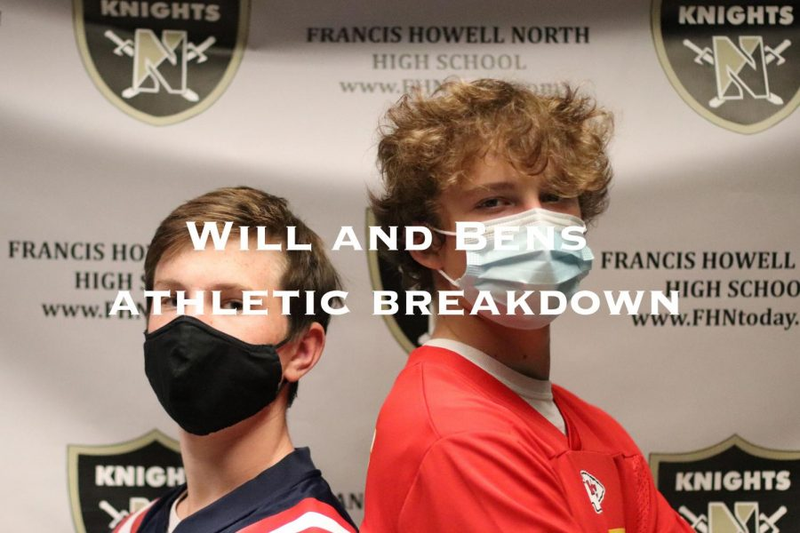 Will and Bens Athletic Breakdown: Nikhil Contractor talks about  his High School Athletic Career