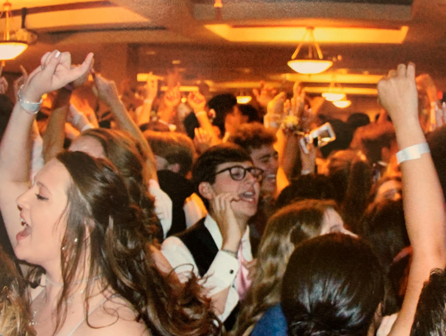 Students party through the prom night in 2019. This is the second year that prom has been cancelled. (File photo)