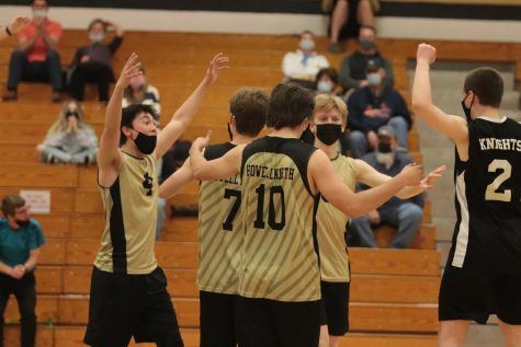 Boys Varsity Volleyball Wins a Close Game against FZS [Photo Gallery]