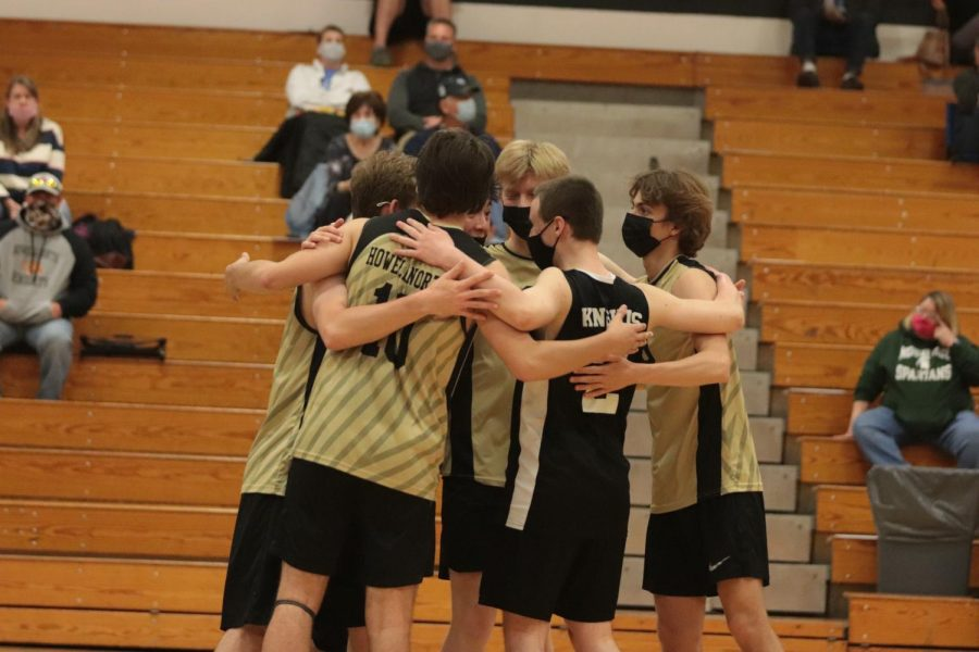FHN Boys Varsity Volleyball Defeats Fort Zumwalt South