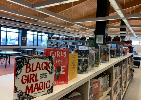 The Learning Commons encourages students to come in and read from their selection of books.