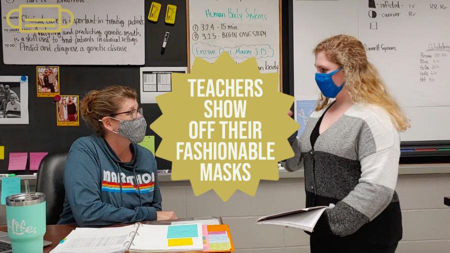 Man On The Street: Teachers Show Their Fashionable Masks
