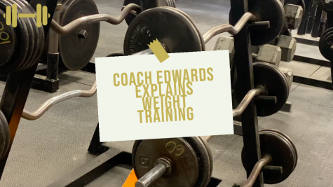 Coach Edwards Explains the Weight Training Class