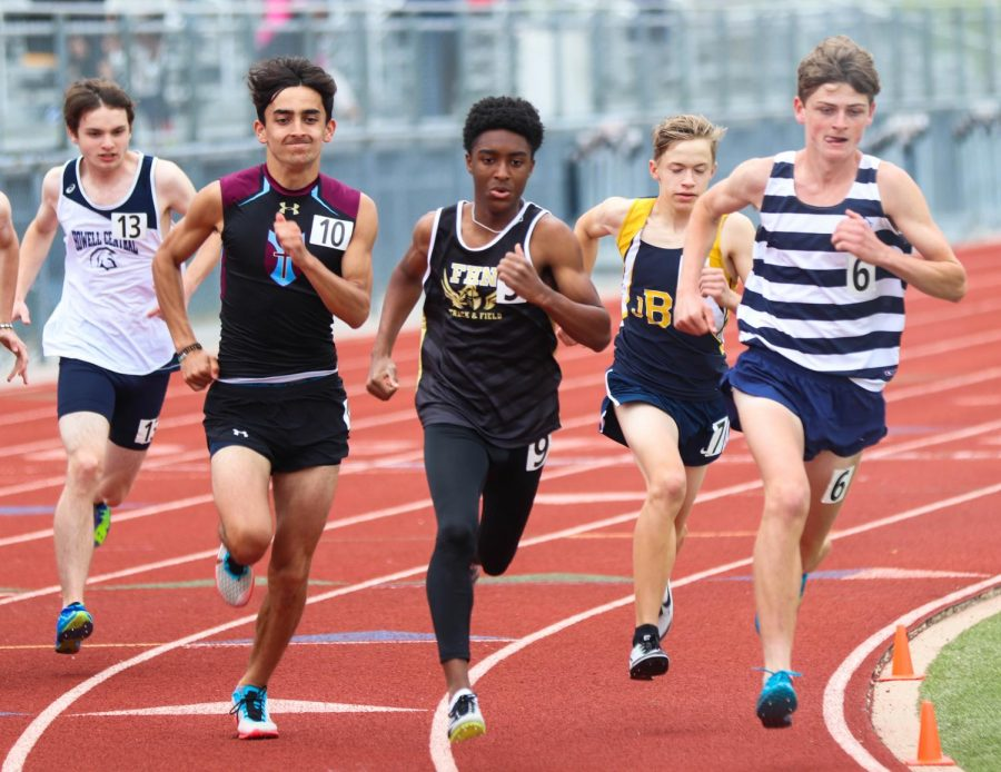 Varsity Track and Field Competes at Districts [Photo Gallery]