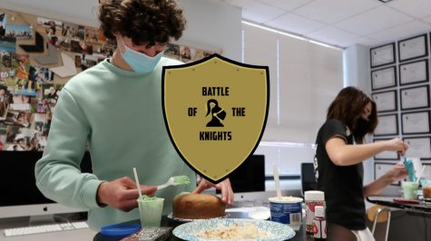 Battle of the Knights: Mini Cake Decorating – Episode 1
