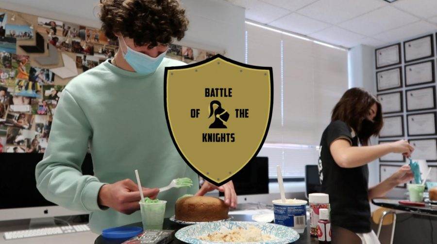 Battle of the Knights: Mini Cake Decorating - Episode 1
