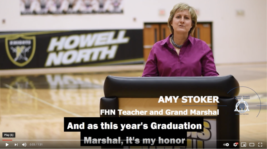 Stoker Delivers Grand Marshall Graduation Speech for FHN Class of 2021