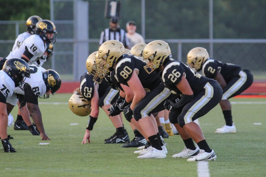 Varsity Football Defeats Oakville in the First Game of the Season [Photo Gallery]