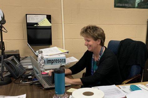 FHN's new Spanish teacher Sharon Parkinson