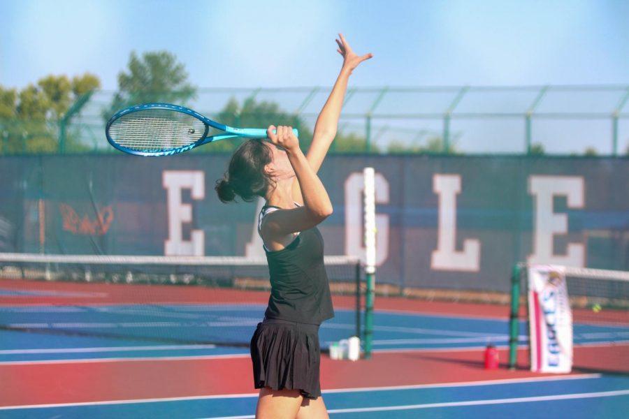 Varsity Girls Tennis Plays in GACs [Photo Gallery]