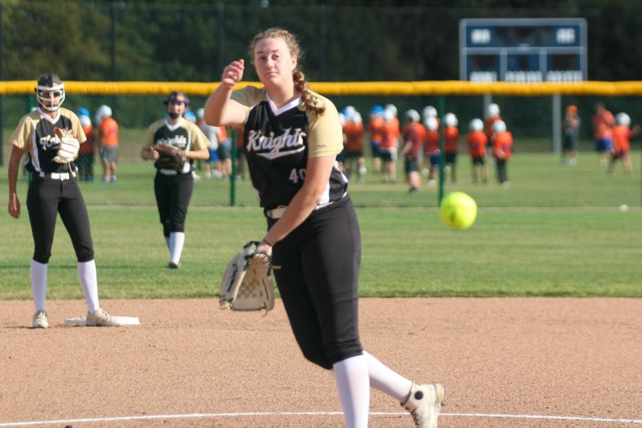 Varsity Softball Conquers North Trail High School [Photo Gallery]