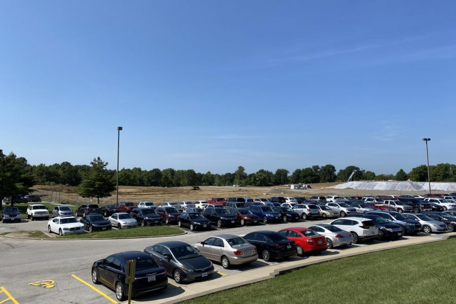 New School Construction Affects Parking Spots