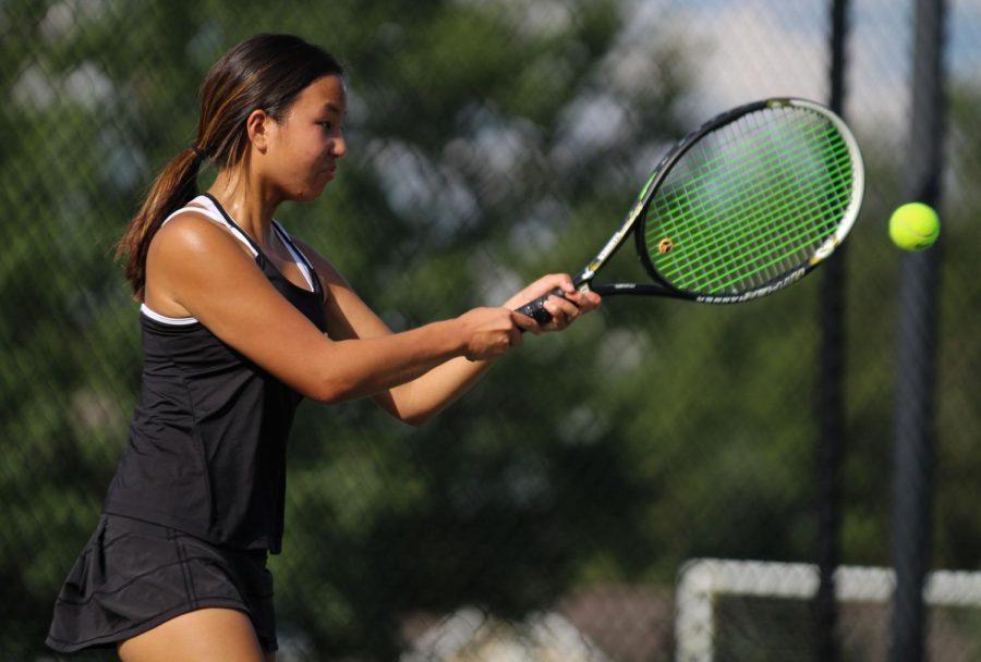 Girls Varsity Tennis loses against St. Charles High [Photo Gallery]