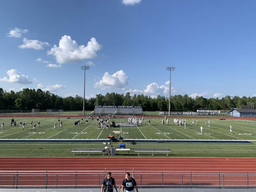 The football stadium at Francis Howell Central is where the dance is located.